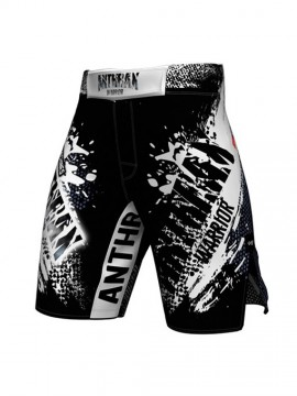 Anthrax CB - BLACK WARRIOR - ULTRA PRO MMA SHORTS
